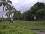 Golf course around the Corner.