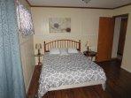 Bedroom 1 with queen