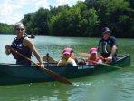 canoe provided