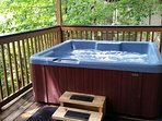 The ultimate in relaxation - the hot tub is a must!