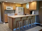Open kitchen - perfect for spending time together while cooking.