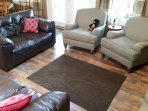 Cozy and comfortable - the place to relax with plush chairs & comfy loveseats.