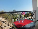 Villa Odysseus Upstairs Twin Room - Balcony