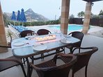 Villa Odysseus Alfresco Dining