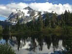 View of Mt. Shuksan from Heather Meadows.....great hiking just an hour away.