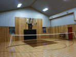 Badminton in the Gym