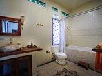 Master En Suite, with deep bath.