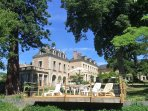You have full use of the facilities and 3 acre grounds of La Grande Maison