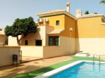 3 Bedroom Holiday House in Almoradi with shared pool