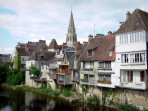 One of may lovely towns by the side of the river Creuse.  Cruises available