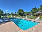 You'll love the community pool in the summer.