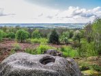 Views across, Boussac, Nouzerines and the surrounding villages