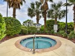 Enjoy community amenities and soak your cares away in this hot tub.