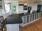 Huge granite kitchen island