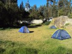 Big space for camping (without cost)