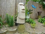 1 of 2 Easter Island statues