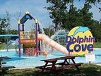Dolphin Cove only 15 minutes drive from the Villa