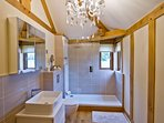 Beautifully finished high spec shower room
