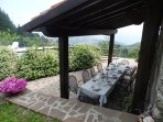 Dine with a view - loggia private to Edera