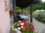 Garden and loggia - your personal eating space