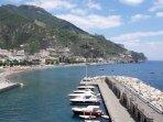 A view of Maiori - Amalfi Coast