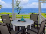 Hale Kai offers a stunning oceanfront location in Hawaiian Paradise Park just south of Hilo.