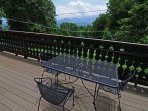 Outdoor Table/Chairs on Deck