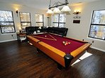 Lower Level Game Room with Sofa