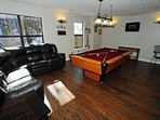 Lower Level Game Room with TV