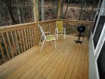 Entry Level Deck with Electric Grill