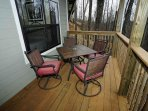 Lower Level Deck with Table & Chairs