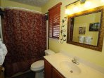 Lower Level King Suite Bath with Tub/Shower