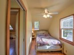 Each cozy bedroom offers a plush bed to curl up in at the end of each day.