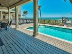 Gorgeous Beachfront Swimming Pool - Complete Luxury!