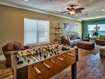 Foosball and Room for the Children