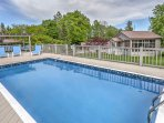 Spend countless hours lounging poolside at this Sterling vacation rental house!