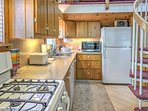 Whip up gourmet recipes in the spacious, fully equipped kitchen.