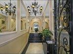 Melbourne CBD Apartments - stylish main entry