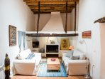 Living room perfect for family bonding