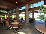 Newly remodeled beach-front pavilion area with full kitchen and BBQs
