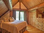 You'll love retreating to this gorgeous master bedroom at day's end.