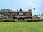 Walk to Rippon Lea Mansion, open to the public every day