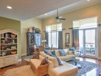 The furnishings give this condo a luxurious atmosphere.
