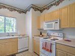 The fully equipped kitchen has everything you'll need to prepare some of your favorite recipes.