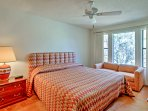 Each bedroom has large windows to let in plenty of morning sunshine.