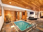 Equipped with a sauna, plunge pool, and an entertainment system throughout, this home leaves nothing to be desired!