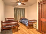 Friends or siblings will love sharing this room with 2 twin beds.