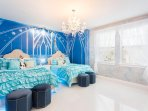 'Frozen' Room with 2 full beds