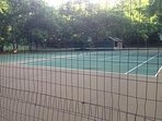 Two newly resurfaced tennis courts. Bring your racquets or borrow from us!