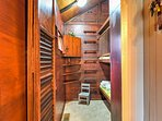 Kids will love staying in one of 2 bunk rooms with 3 overlapping bunk beds!